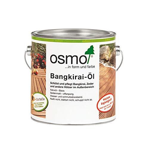 Osmo Bangkirai-Öl Naturgetönt (006) 2,5 Liter