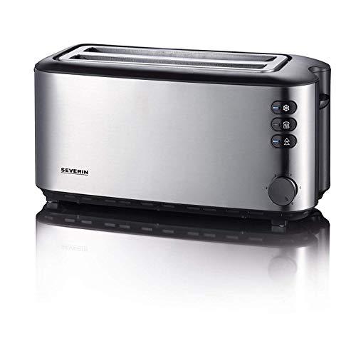 SEVERIN AT 2509 Automatik-Toaster (1.400 W, 2 Langschlitzkammern, für bis zu 4...