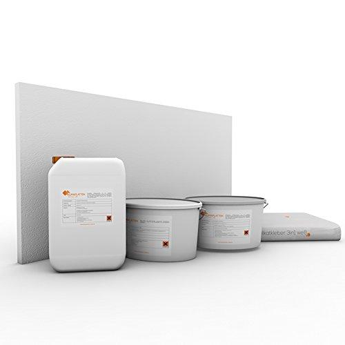 Klimaplatten Renovierpaket 30mm Plus4 (Kalziumsilikatplatten 30mm + Silikatgrundierung +...
