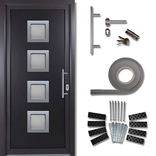 kuporta Kunststoff Haustür Rimini Türen 108 x 200 cm DIN rechts außen anthrazit/innen...