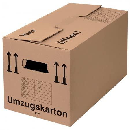 BB-Verpackungen 20 x Umzugskarton PROFI 600 x 328 x 340 mm (stabil 2-wellig, belastbar bis...