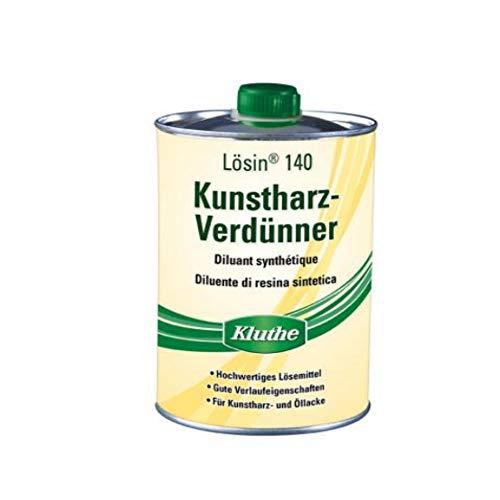 Kluthe Langsamflüchtiger Kunstharzverdünner für Kunstharz-, Öllacke....