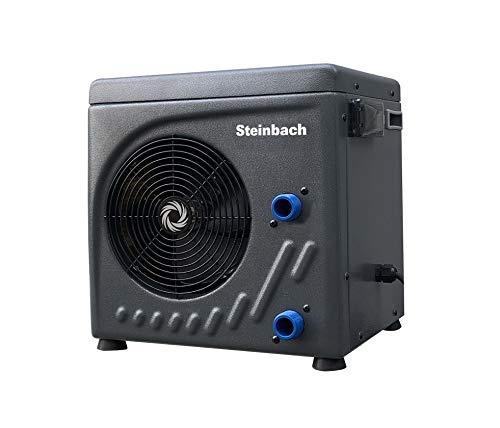 Steinbach Mini Wärmepumpe für Pools bis 20.000 l Wasserinhalt, Heizleistung 3,9 kW, 220V...