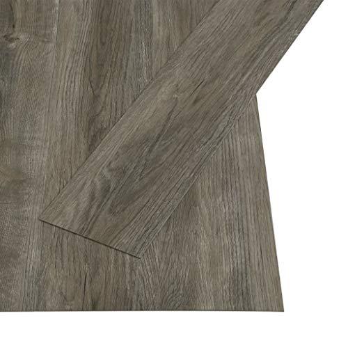 vidaXL Laminat Dielen Fußboden Vinylboden Vinyl Boden Planken Bodenbelag Designboden PVC...
