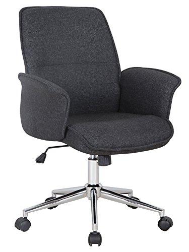 SixBros. Bürostuhl,Schreibtischstuhl zum Drehen, Drehstuhl für's Büro oder...