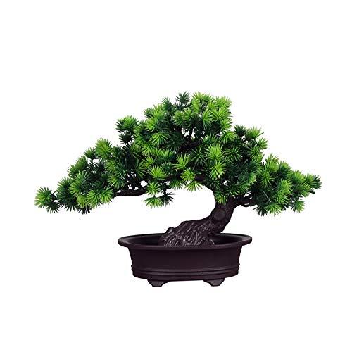 künstliche Bonsai Künstliche Bonsai-Baum Pflanzen Dekoration Kunstpflanze...