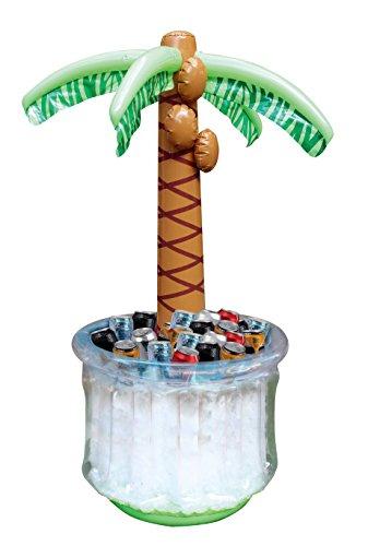 JOYIN 152cm aufblasbarer Palme Getränkekühler, Strand Themeparty Deko, Party Zubehör...