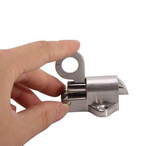 KSTE Fenster Tor Sicherheit Pull Ring Feder Bounce Türriegel Aluminium Latch-Verschluss
