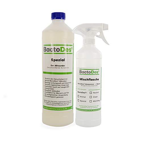 BactoDes Spezial 1l | Allround Geruchsentferner | Urin-Geruchsneutralisierer