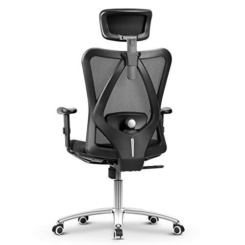 Bürostuhl Ergonomisch Bürostuhl, Schreibtischstuhl Computer Stuhl drehstuhl mit...