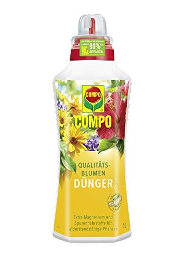 Compo Qualitäts-Blumendünger für alle Pflanzen im Zimmer, auf Balkon und Terrasse,...