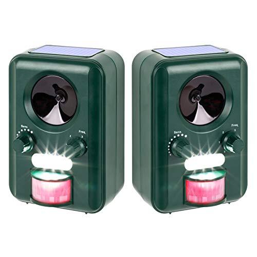VOSS.sonic Ultraschallabwehr Katzenschreck Tierabwehr im Doppelpack 2000 Ultraschall...