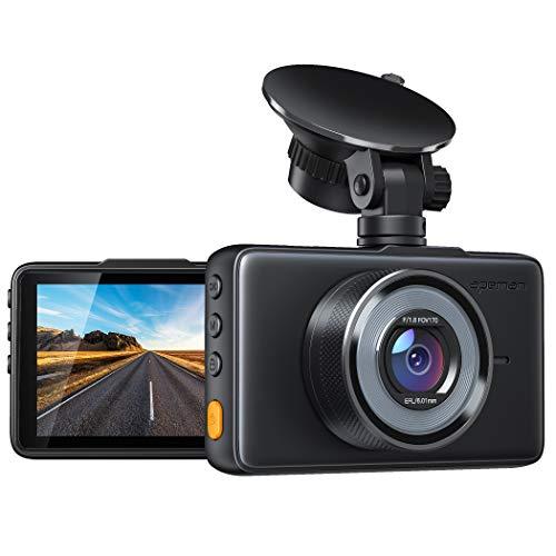 APEMAN Dashcam 1080P Full HD DVR Autokamera 3 Zoll LCD-Bildschirm 170 ° Weitwinkel,...