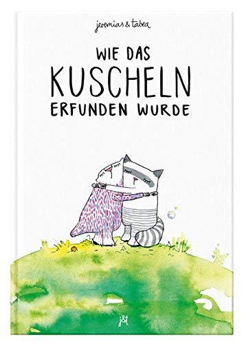 Wie das Kuscheln erfunden wurde: Bilderbuch inkl. Malbuch für 2 / 3 / 4 / 5 / 6 Jahre -...