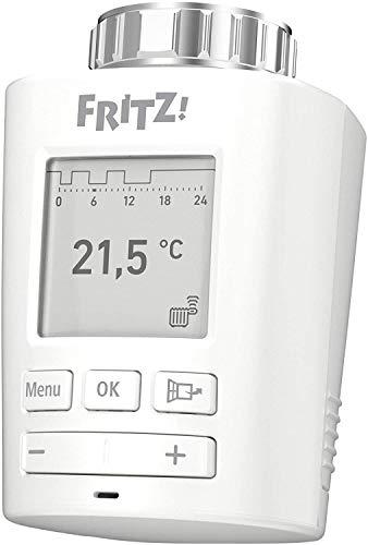 FRITZ!DECT 301 Intelligenter Heizkörperregler für das Heimnetz, für alle gängigen...