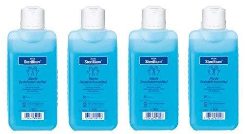 Sterillium Hände-Desinfektionsmittel | 4 x 500 ml Flasche
