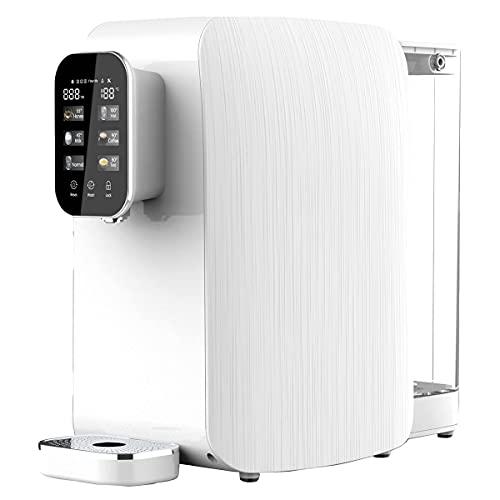 OsmoFresh Auftisch Osmoseanlage Quella Life mit 6 Temperaturstufen (~15-100°C) mobil kein...