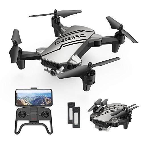 DEERC D20 Mini Drohne für Kinder mit Kamera HD 720P,Faltbar RC Quadcopter mit FPV Wlan...