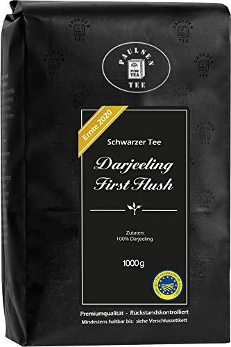 Darjeeling First Flush FTGFOP1 'Ernte 2020', 1000g (37,50 Euro/kg), Paulsen Tee schwarzer...