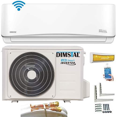 Quick-Connect INVERTER Split Klimaanlage mit Wärmepumpe 3,2kW Klimagerät ECO Smart...