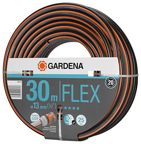 Gardena Comfort FLEX Schlauch 13 mm (1/2 Zoll), 30 m: Formstabiler, flexibler...