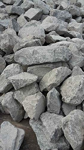 Der Naturstein Garten 25 kg Basalt Steine 200-400 mm - Aquarium Teichbau Bachlauf -...