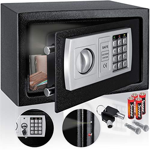 KESSER® Elektr. Tresor | 31x20x20cm | LED-Anzeige | Elektronischer Safe |...