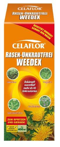 Celaflor 3579 Rasen-Unkrautfrei Weedex, Hochwirksamer Unkrautvernichter zur Bekämpfung...