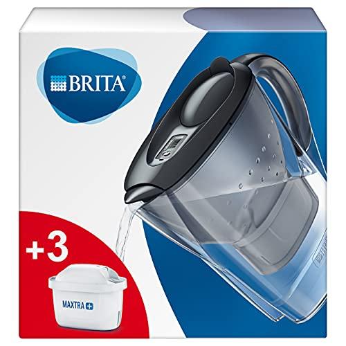 BRITA Wasserfilter Marella graphit inkl. 3 MAXTRA+ Filterkartuschen – BRITA Filter...
