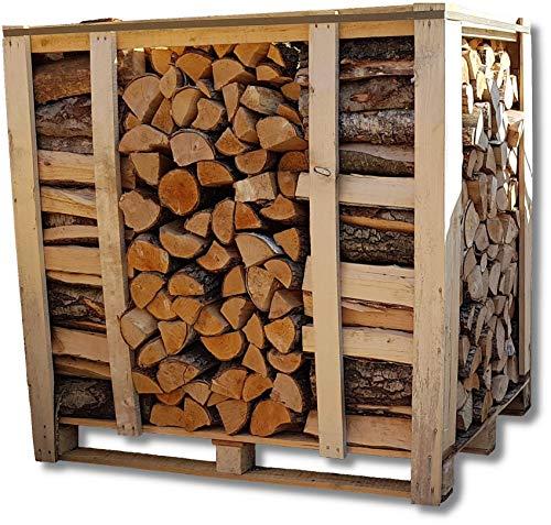 Brennholz Palette Hart-/Laubholz Mix 25cm Scheitlänge trocken & ofenfertig 1RM = ca. 1,2...