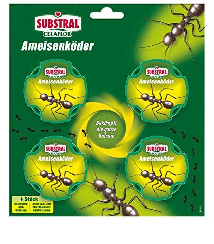 Substral Celaflor Ameisen-Köder, zur Bekämpfung von Ameisen im Haus und auf Terrassen...