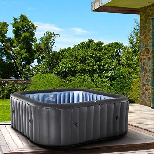 Whirlpool aufblasbar MSpa Tekapo für 6 Personen 185x185cm In-Outdoor Pool 132...
