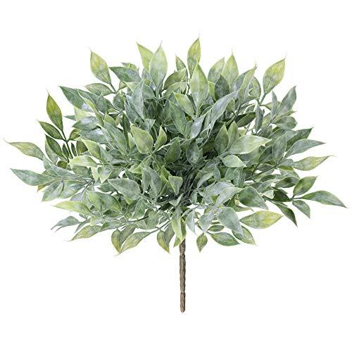 4 Stück Künstliche Grünsträucher, Pflanzen, künstliche Sträucher,...