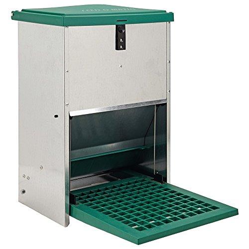 Olba Futterautomat Feedomatic 12kg mit Trittplatte für 12kg Futter,...