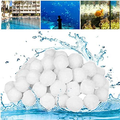 SUPERSUN Filterbälle Pool 700g Ersetzen 25kg Filtersand, Pool Zubehör Filteranlage...