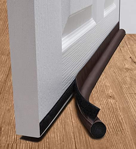 deeToolMan Zugluftstopper 91,4 cm: einseitig Tür Isolator Selbstklebende...