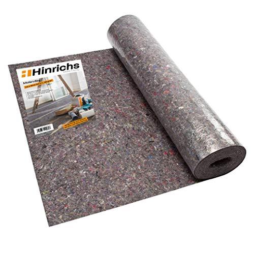 Malervlies Tapete ca. 1 m x 50 m = 50 m² Abdeckvlies 180g je qm stark mit PE Anti Rutsch...