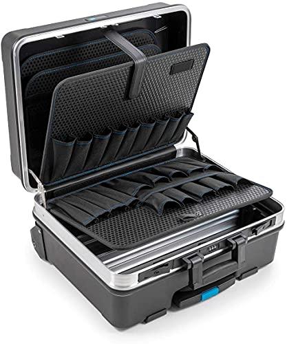 B&W Werkzeugkoffer GO mobil mit Werkzeugeinsteckfächern (Koffer aus ABS, Volumen 36l, 48...