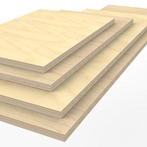 Profi Multiplexplatte 1250 x 600 x 40 mm Werkbankplatte Arbeitsplatte (von 125cm - 200cm...