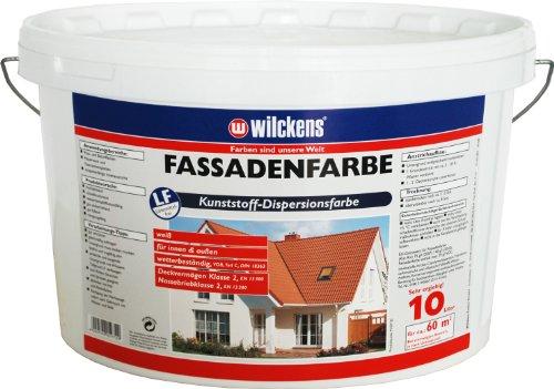 Wilckens Fassadenfarbe, 10 L, weiß 13391000110