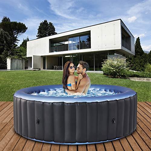 Miweba MSpa aufblasbarer Whirlpool 2021 Comfort Bergen C-BE061 - für 6 Personen - 138...