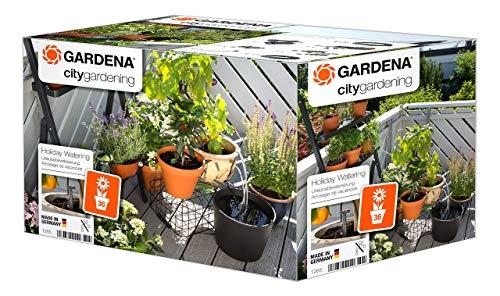 Gardena city gardening Urlaubsbewässerung: Pflanzenbewässerungs-Set für drinnen und...