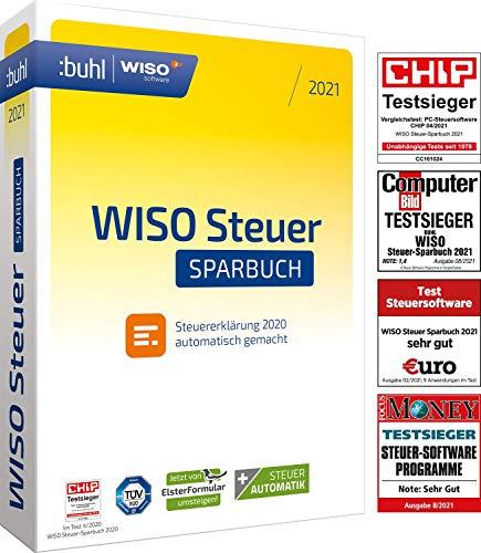 WISO Steuer-Sparbuch 2021 (für Steuerjahr 2020 | Standard Verpackung)