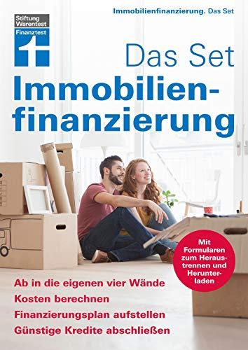 Immobilienfinanzierung - Das Set: Kosten berechnen, Finanzierungsplan erstellen, günstige...