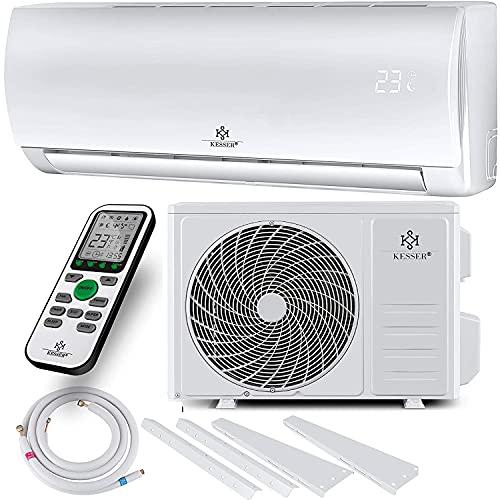 KESSER® Klimaanlage SET Split - mit WiFi/App Funktion Klimagerät - Kühlen A++/ Heizen...