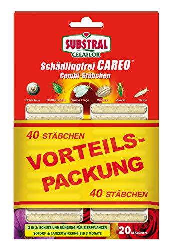 Substral Celaflor Schädlingsfrei Careo Combi-Stäbchen, mit Pflanzenschutz und...