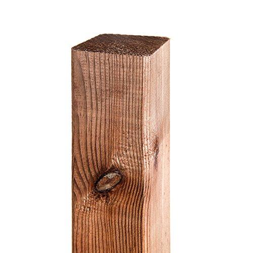 1 Stk. Pfosten 7cm x 7cm x 180cm Holzpfosten Kieferpfosten imprägniert