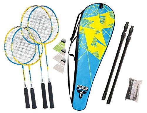 Talbot Torro Unisex Talbot-torro Badminton-set Family, 2 Juniorschläger 53cm,...