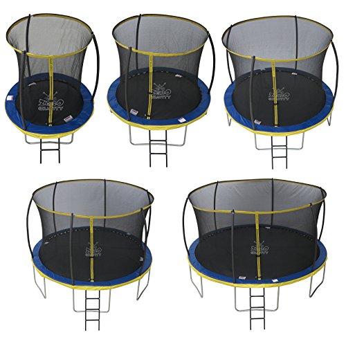 Zero Gravity Garten-Trampolin Ultima 4 für Kinder, mit Sicherheitsnetz und Leiter,...