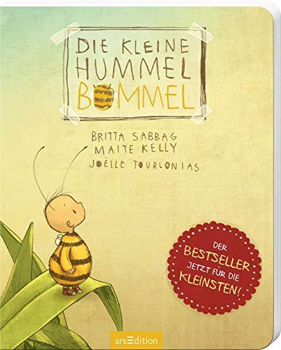 Die kleine Hummel Bommel (Pappbilderbuch): Bestseller-Kinderbuch zum Thema Mut und...
